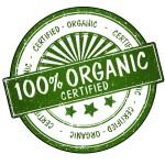 symbol of organic food - alkaline