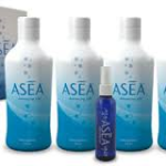 Bottles of ASEA