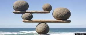 rocks balanced w ocean background for meditation classes