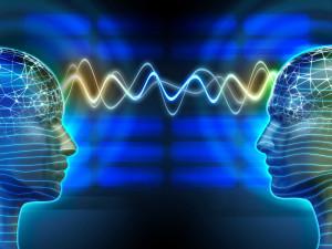 Brainwaves going between 2 people in classes
