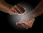 Hands doing Reiki distance healing
